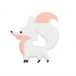 Gryzaki dla niemowląt Cartoon Animal Panda itp. BPA Food Grade silikonowy gryzak dla dziecka ząbkowanie żuć silikonowy gryzak ko