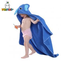 MICHLEY ręcznik dziecięcy 2019 maluch 100% bawełniany szlafrok dla niemowląt chłopcy dziewczęta wiosna zwierząt ręcznik kąpielow