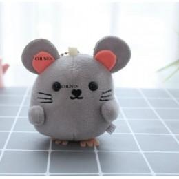 Mały uroczy 4-9CM ok., Piękne zabawki mini mysz, kolor do wyboru, wypchane pluszowe zabawka w kształcie zwierzątka, breloczki la