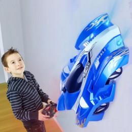Nowy RC samochód ścianę zabawkowe samochody wyścigowe wspiąć się na sufit wspiąć się przez ścianę pilot zdalnego sterowania zaba