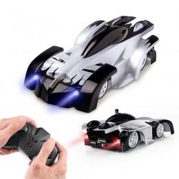 Dropshipping nowe samochody wspinaczkowe zdalnie sterowany samochód wyścigowy anty Gravity sufit obrotowy Stunt zabawki elektryc