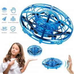 Magiczna ręka UFO latające samoloty zabawki drony elektryczna elektroniczna zabawka LED Mini indukcja Drone UFO zabawki dla dzie