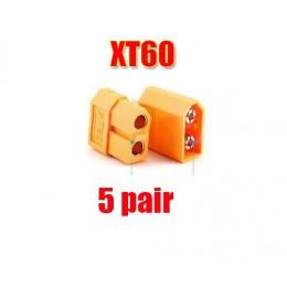 10/20 sztuk XT60 XT-60 mężczyzna kobieta wtyczki złącza pociskowe dla akumulator do rc lipo (5/10 para) sprzedaż hurtowa