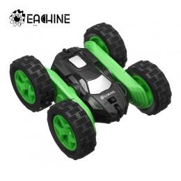 Eachine EC02 RC Car 2.4G 4WD Stunt Drift deformacja Buggy Roll Car 360 stopni Flip Robot modele pojazdów szybki samochód rock cl