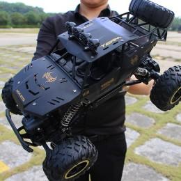 XYCQ RC samochód 4WD 2.4GHz samochodów wspinaczkowy 4x4 podwójne silniki Bigfoot pilot samochodowy sterowany model terenowy poja