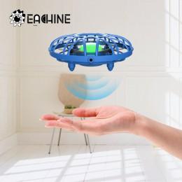 Eachine E111 Mini Drone UFO kontrola wykrywania podczerwieni ręcznie latające samoloty Quadcopter Infraed indukcja Intlligent BN
