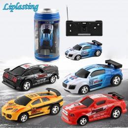 Kreatywna puszka coli Mini samochód RC samochody kolekcja Radio sterowane samochody maszyny na zabawki zdalnie sterowane dla chł