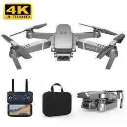 2020 nowy E68 Drone HD szeroki kąt 4K WIFI 1080P FPV drony wideo na żywo nagrywanie Quadcopter wysokość do utrzymania dron z kam