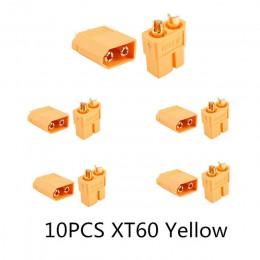 10/20 sztuk XT60 czarny/niebieski/XT60 +/XT30UPB/XT60-E/XT60-L mężczyzna kobieta wtyczki złącza pociskowe dla akumulator do rc l