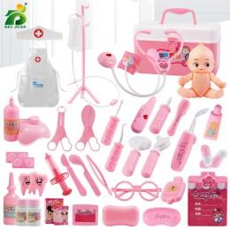 22-44 sztuk/zestawów dziewczyny do odgrywania ról lekarz klasyczna medycyna symulacja udawaj zagraj w odzież medyczna zabawka dl