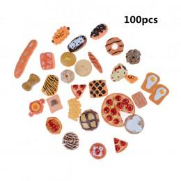 10 sztuk domowe rzemiosło Mini żywności Ornament miniaturowy domek dla lalek lalki akcesoria do domu