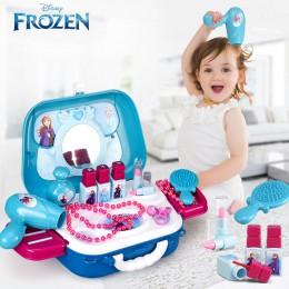 Disney księżniczka zabawki mrożone dziewczyny zabawki opatrunek makijaż zestaw zabawek dzieci makijaż mrożone 2 dzieci zabawki m