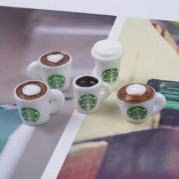 1/12 miniaturowe jedzenie Mini filiżanka kawy pić lalka model żywności dla blyth, bjd, 1/6 lalki dla dollhouse kuchnia zabawki
