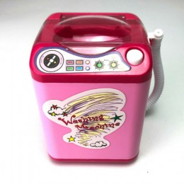 2020 najnowszy gąbeczka do makijażu szczotki czyszczące zabawka do mycia zabawki do sprzątania Hot Mini elektryczna pralka kosme