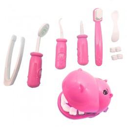 Dzieci udawaj zagraj w zabawkę dentysta sprawdź model zębów zestaw zestaw medyczny edukacyjne do odgrywania ról symulacja nauka