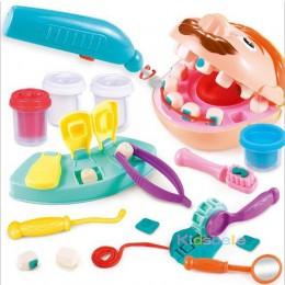 Zabawki do zabawy w lekarza dla dzieci udawaj zabawkę dentysta sprawdź model zębów zestaw zestaw medyczny do odgrywania ról symu