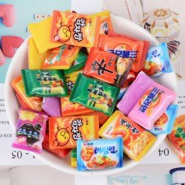 10 sztuk/partia śliczne Mini zabawki żywności miniaturowy domek dla lalek żywica Instant Noodles udawaj jedzenie dla lalek zabaw