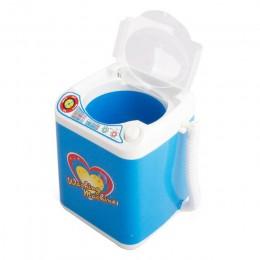 Minipędzelek do makijażu czyszczenie elektryczny niebieski pralka zabawki udawaj zagraj w zabawki dla dzieci zabawki dla dzieci