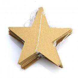 4M papierowe gwiazdki girlandy Banner urodziny ciąg łańcuch wesele dekoracja Banner pokój strona główna impreza tematyczna zabaw