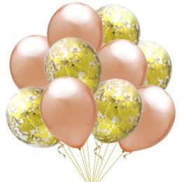 20 sztuk/partia 12 cali konfetti lateksowe balony piłka dmuchana zabawka dla dzieci urodziny dekoracyjne ślubne balony Cartoon H