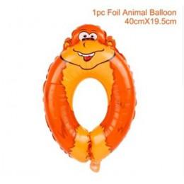 Balony ze zwierzętami dżungla impreza w stylu safari balony dżungla dekoracje świąteczne folia zwierząt balon dekoracje na przyj