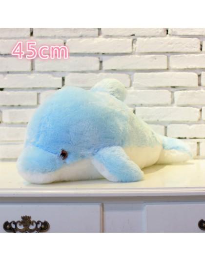 50CM kolorowe Luminous Teddy Dog LED Light pluszowa poduszka poduszka dla dzieci zabawki wypchane zwierzę lalka na prezent urodz