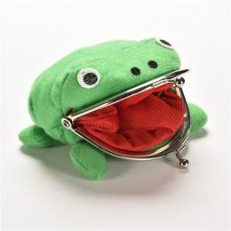 Naruto Kunai Ninja broń kształt żaby Cosplay moneta kiesa portfel miękki futrzany Be Pl