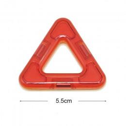 Big Size układanki magnetyczne magnesy klocki jednoczęściowe akcesoria część 3D edukacyjne konstruktor zabawki dla dzieci prezen