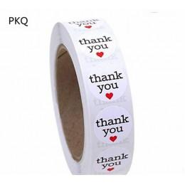 100 sztuk 1 Cal DIY Hand Made Handmade z miłością etykiety naklejki ślubne samoprzylepna naklejka Kraft okrągłe etykiety naklejk