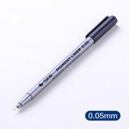 Złożony z 1 części wkładka pigmentowa Pigma Micron marker na atrament pióro 0.05 0.1 0.2 0.3 0.4 0.5 0.6 0.8 różnych końcówki cz