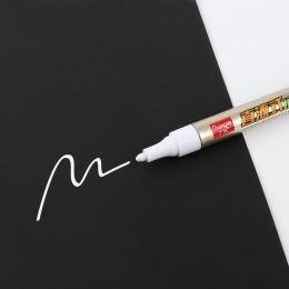 Jednogłowy biały kolor magiczny marker Mark tłusty dysk optyczny szklana ceramiczna plastikowa marker logstics marker darmowa wy