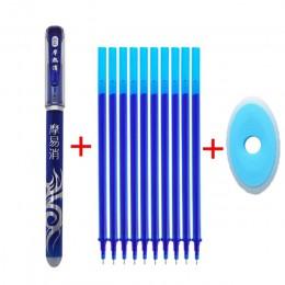 Zmazywalny długopis napełniania 12 sztuk/zestaw biurowe długopis żelowy 0.5mm pręt magia zmywalny uchwyt zmazywalny długopis nie