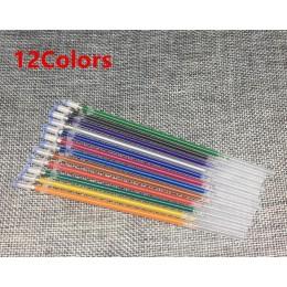 12 24 36 48 kolorów/zestaw Flash Ballpint długopis żelowy podświetl kolor wkładu pełny świecący wkład długopis do malowania kolo