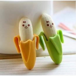 Kreatywny śliczne 2 szt. Bananowy owocowy ołówek z gumką nowość dzieci Student nauka materiały biurowe