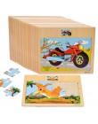 Zabawki montessori drewniane zabawki edukacyjne dla dzieci wczesne uczenie się 3D Puzzle ruchu zwierząt dla dzieci Puzzle matema