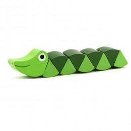 Zabawki montessori drewniane zabawki edukacyjne dla dzieci wczesne uczenie się ćwiczenia dziecięce palce elastyczne dzieci drewn