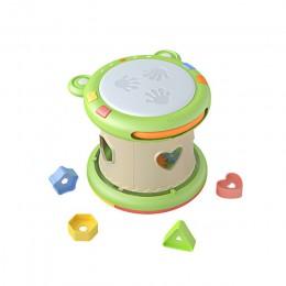 Tumama Kids Baby bębny ręczne dzieci Pat Drum instrumenty muzyczne zabawki dla dzieci 6-12 miesięcy zabawki muzyczne dla dziecka