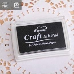 15 kolorów Inkpad Handmade DIY Craft na bazie oleju odcisk atramentowy stemple gumowe tkaniny drewno papier Scrapbooking odcisk