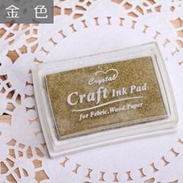 5.2*7.2cm kwadratowy czysty kolor kolorowy atrament pad mini gąbka diy pieczęć odcisk atramentowy papiernicze artykuły szkolne