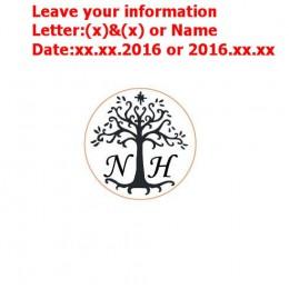 Dostosuj pieczęć woskowa logo spersonalizowany obraz niestandardowe pieczęć woskowa pieczęć zaproszenie na ślub Retro antyczne p