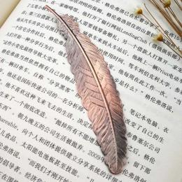 DIY śliczne Kawaii czarny motyl pióro metalowa zakładka do książki papierowe kreatywne przedmioty piękne koreańskie piśmiennicze