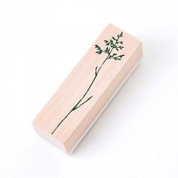 Vintage rośliny trawa znaczek DIY drewniane i gumowe stemple do scrapbookingu papiernicze scrapbooking standardowy znaczek