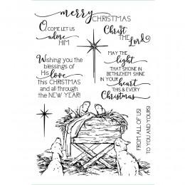 Przejrzysta świąteczna przezroczysty silikonowy znaczek/pieczęć do DIY scrapbooking/ozdobny album na zdjęcia wyczyść pieczęć