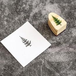 Zwierzęta leśne wiewiórka liście znaczek DIY drewniane i gumowe stemple do scrapbookingu papiernicze scrapbooking standardowy zn
