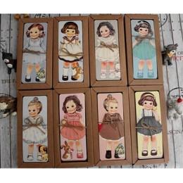 30 sztuk/partia nowa dziewczyna lalka mate serii zakładki zestaw/zakładki papieru/stojak na książkę/kartka z wiadomością z pakie