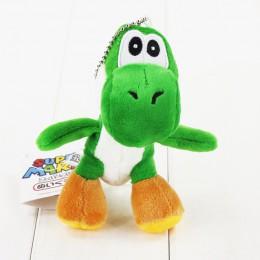 10 stylów 12cm Super Mario Yoshi pluszowa zabawka nadziewane miękkie wisiorek lalki z brelok brelok wielki prezent