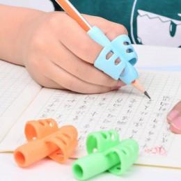 Silikonowe nakładki na długopis ołówek do nauki pisania pomocne wygodne komfortowe kolorowe