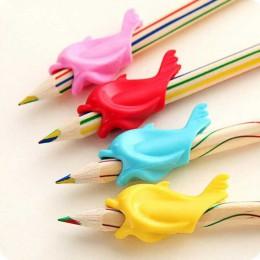 10pc dużo Dolphin Fish Writing korekta postawy urządzenie do przechowywania korekcji pióra silikonowe piśmienne dziecko Student