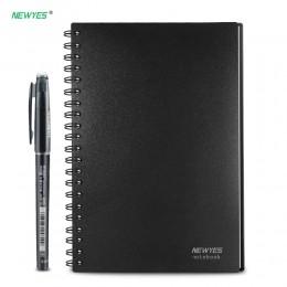 NEWYES A6 rozmiar inteligentny wielokrotnego użytku wymazywalna notatnik fala mikrofalowa chmura wymazać notatnik notatnik pokry