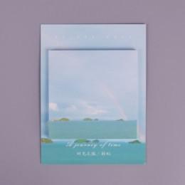 Kolorowe chmury student notatnik planner karteczki papierowa naklejka kawaii biurowe pepalaria biuro szkolne 30 stron